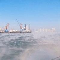 Kỳ lạ cảnh tượng mặt biển