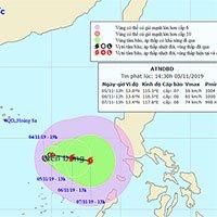 Lại xuất hiện áp thấp nhiệt đới, có khả năng mạnh lên thành bão