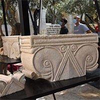 Lần đầu khai quật được lâu đài hoàng gia cổ đại ở Israel