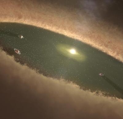 Lần đầu quan sát quá trình thai nghén một hành tinh