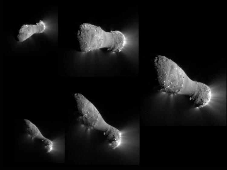 Lần đầu tiên chụp cận cảnh Sao chổi Hartley 2