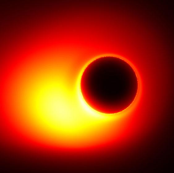Lần đầu tiên đo được miệng hố đen khổng lồ
