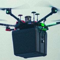 Lần đầu tiên dùng drone chở phổi cấy ghép tới bệnh viện
