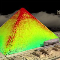 Lần đầu tiên, hình ảnh 3D về cấu trúc bên trong kim tự tháp được tiết lộ