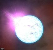 Lần đầu tiên phát hiện ngôi sao chui vào ngôi sao