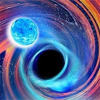 Lần đầu tiên phát hiện ra hiện tượng dữ dội: Hố đen nuốt chửng sao neutron