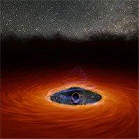 Lần đầu tiên trong lịch sử, các nhà thiên văn học quan sát được 1 hố đen vừa