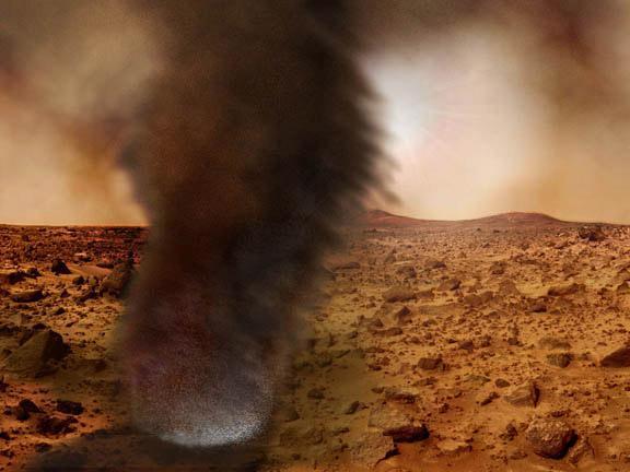 Lần đầu tìm thấy bằng chứng trực tiếp về hiện tượng chớp trên sao Hoả