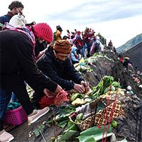 Lễ tế thần Yadnya Kasada độc đáo của người Indonesia