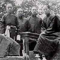 Loạt ảnh hậu cung của Hoàng đế Quang Tự triều nhà Thanh: Hoàng hậu lưng gù, phi tần mũm mĩm