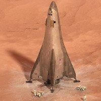 Lockheed Martin hé lộ tàu đổ bộ sao Hỏa mới chạy bằng hydro hóa lỏng