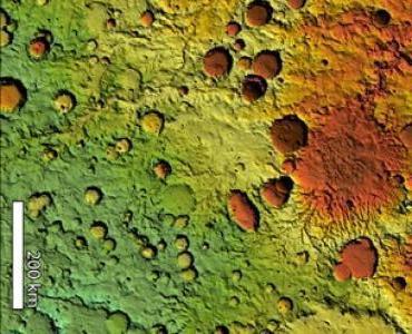 Lũ lụt theo giai đoạn hình thành nên mạng lưới thung lũng trên sao Hỏa