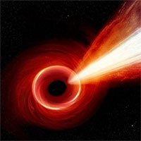 Luồng tia X lớn hơn dải Ngân Hà phát ra từ hố đen