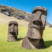 """Lý giải vị trí đặt tượng """"moai"""" bí ẩn trên đảo Phục Sinh"""