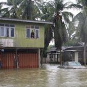 Malaysia: Mưa lũ lớn làm 1.500 người phải lánh nạn