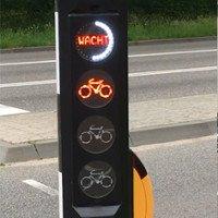 Mặt đường thông minh nhận biết xe để bật đèn xanh