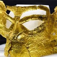 Mặt nạ vàng 3.000 năm tuổi được khai quật ở Trung Quốc
