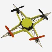 Mẫu drone đặc biệt có thể tự uốn dẻo khi gặp va chạm