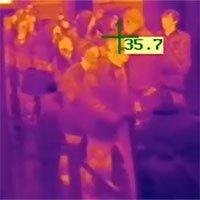 Máy đo thân nhiệt từ xa hoạt động thế nào?