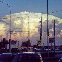 """Mây """"hạt nhân"""" bao trùm khiến người Nga hốt hoảng"""