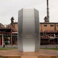 Máy lọc khổng lồ bất lực trước không khí ô nhiễm Bắc Kinh