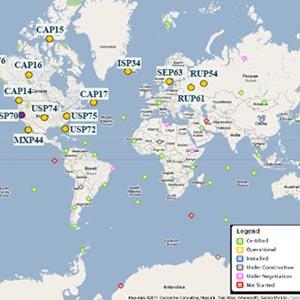 Mây phóng xạ lan rộng ở bắc bán cầu