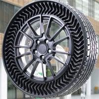 Michelin lần đầu ra mắt lốp xe không bơm hơi