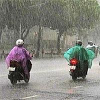 Miền Bắc đón không khí lạnh, nhiều nơi mưa rất to từ chiều tối nay
