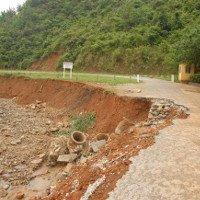 Miền Bắc mưa dông, nguy cơ sạt lở đất tại vùng núi