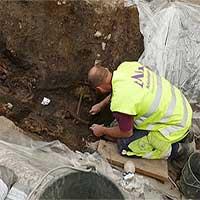Mộ cổ ngàn năm mang dáng dấp