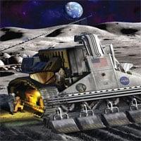 Mô phỏng lò phản ứng phục vụ khai khoáng trên Mặt trăng