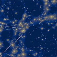 Mô phỏng thành công cấu trúc đầu tiên trong vũ trụ