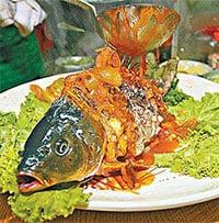 Món cá âm dương nửa sống, nửa chết khiến thực khách