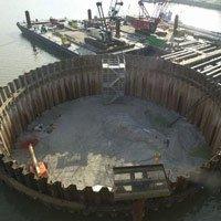Móng của một cây cầu được xây dựng như thế nào?