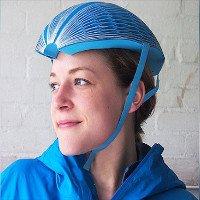 Mũ bảo hiểm bằng giấy có thể gấp gọn