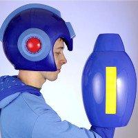 Mũ bảo hiểm phong cách Mega Man ra mắt