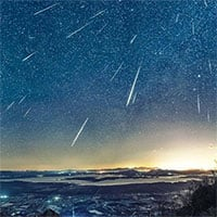 Mưa sao băng đẹp nhất năm sẽ diễn ra vào tháng 8