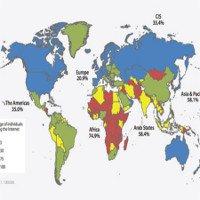 Năm 2016: Hơn một nửa dân số thế giới vẫn chưa có internet