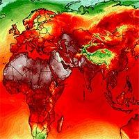 Nắng nóng cực độ lập kỷ lục ở nhiều nơi trên thế giới