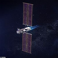 NASA chia sẻ ảnh mô phỏng trạm vũ trụ Mặt trăng đầu tiên