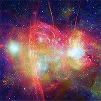 NASA công bố ảnh tuyệt đẹp ở trung tâm dải Ngân Hà