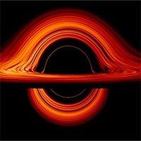 NASA công bố hình ảnh mô phỏng sắc nét chưa từng thấy về hố đen