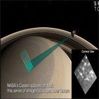 NASA công bố video chưa bao giờ thấy trước đây về sao thổ
