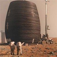 NASA tiết lộ công nghệ xây nhà trên sao Hỏa