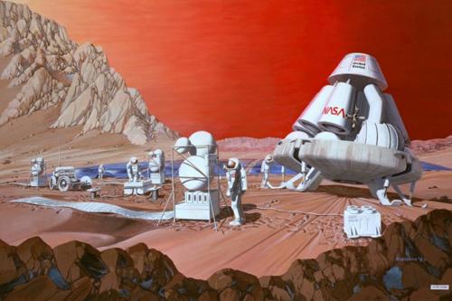 NASA tổ chức cuộc thi thiết kế nhà ở trên sao Hỏa
