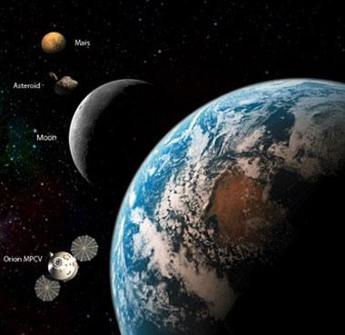 NASA xây trạm không gian ở nửa tối Mặt trăng