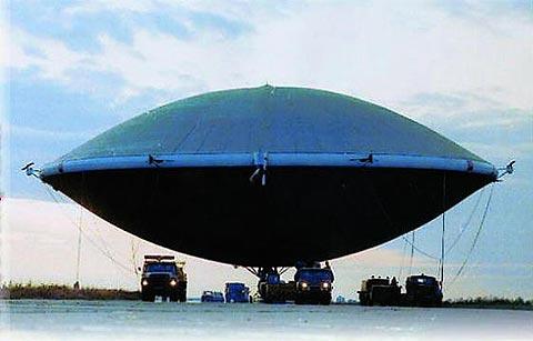 Nga nghiên cứu chế tạo khí cầu trọng tải 600 tấn
