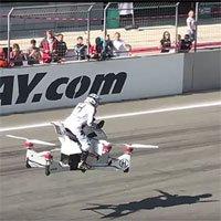 Nga thử nghiệm thành công mẫu môtô bay 4 cánh
