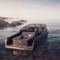 Ngắm du thuyền cánh ngầm sang chảnh chạy bằng điện giá 8 tỷ đồng