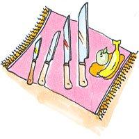Ngày nào cũng dùng dao, nhưng có chắc là bạn biết hết công dụng của từng loại?